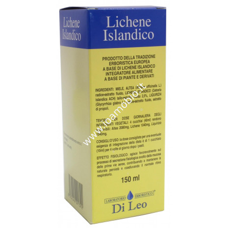 Preparato al Lichene Islandico 150ml