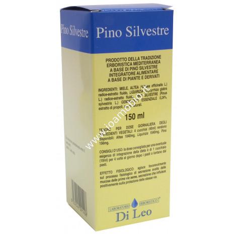 Sciroppo al Pino Silvestre Di Leo 150ml - con Olii Essenziali Propoli e Miele