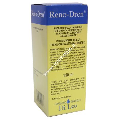 Reno Dren Di Leo 150ml - Depurativo Renale, Diuretico, contro Ritenzione Idrica
