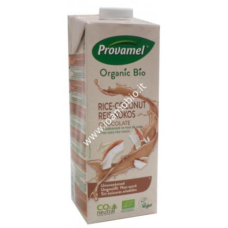 Riso Cocco Choco Provamel 1l - Latte di Riso e Cocco al gusto di Cioccolato