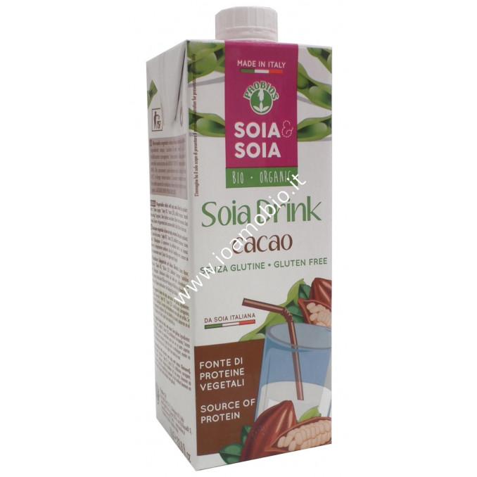 Bevanda di soia con cacao 1l
