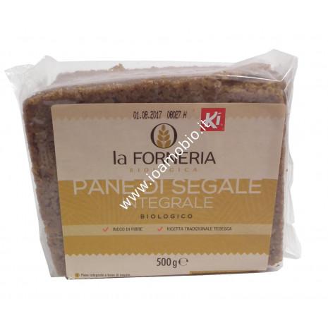 Pane integrale di segale classico 500g