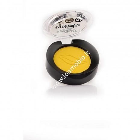 Ombretto compatto in cialda Giallo Indiano Matte 18 Purobio Cosmetics