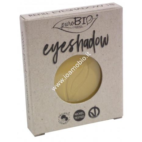 Ombretto compatto in cialda Giallo Indiano Matte 18 Purobio Cosmetics - REFILL
