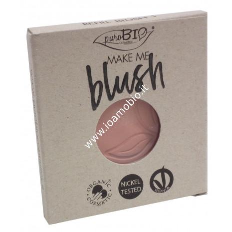 Blush 01 Rosa Satinato Purobio Cosmetics - REFILL