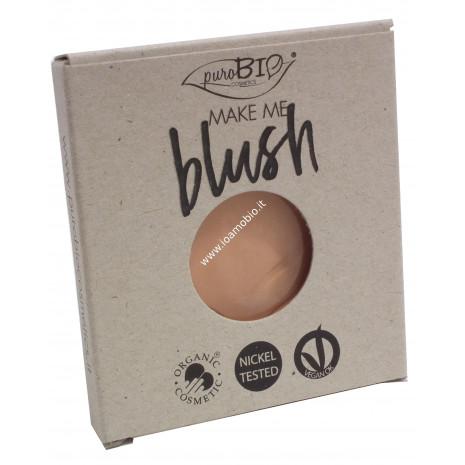 Blush 03 Pesca Satinato Purobio Cosmetics - REFILL