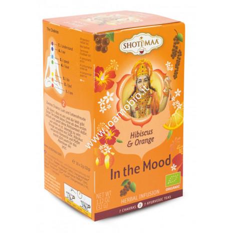 Tisana ibisco arancia pepe 2° chakra