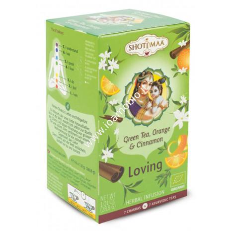 Tisana tè verde cannella earl grey 4° chakra