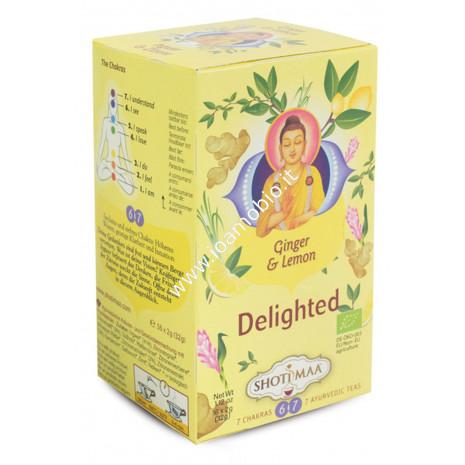 Tisana zenzero e limone 6° e 7° chakra