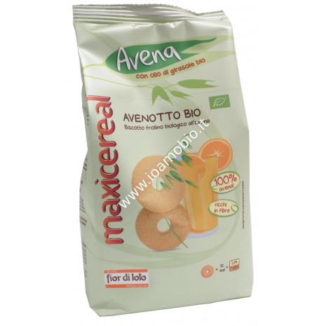 Avenotto 100% Avena 300g - Biscotto Frollino Biologico all'Avena