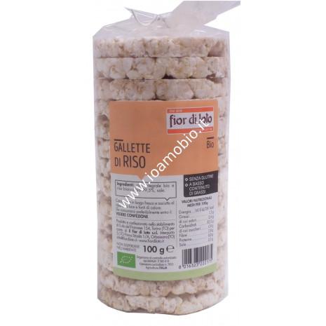Gallette di riso integrale 100g - Fior di Loto