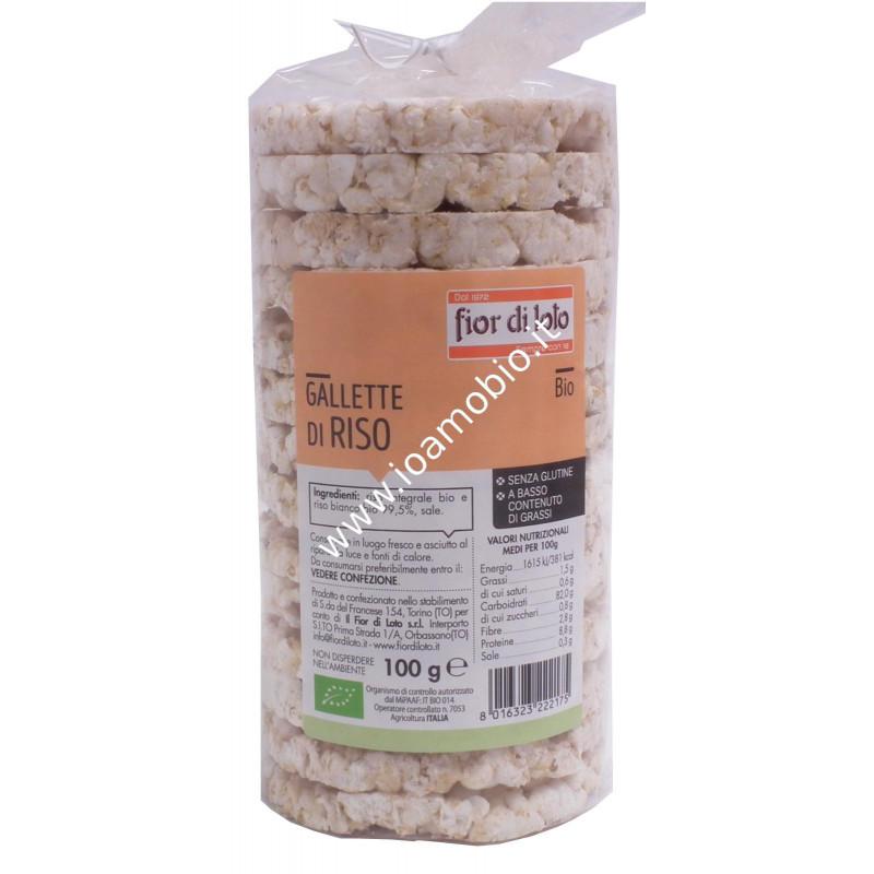Gallette di riso integrale 100g