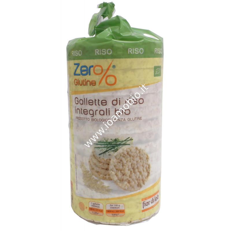 Gallette di riso integrale con sale Erog. 100g