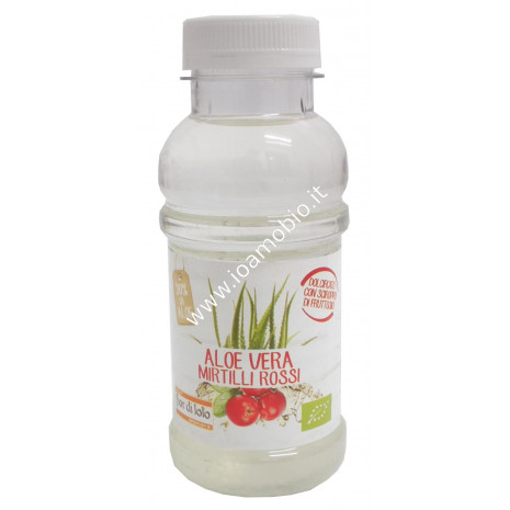 Drink Aloe Vera e Mirtilli rossi - Bevanda biologica 250ml