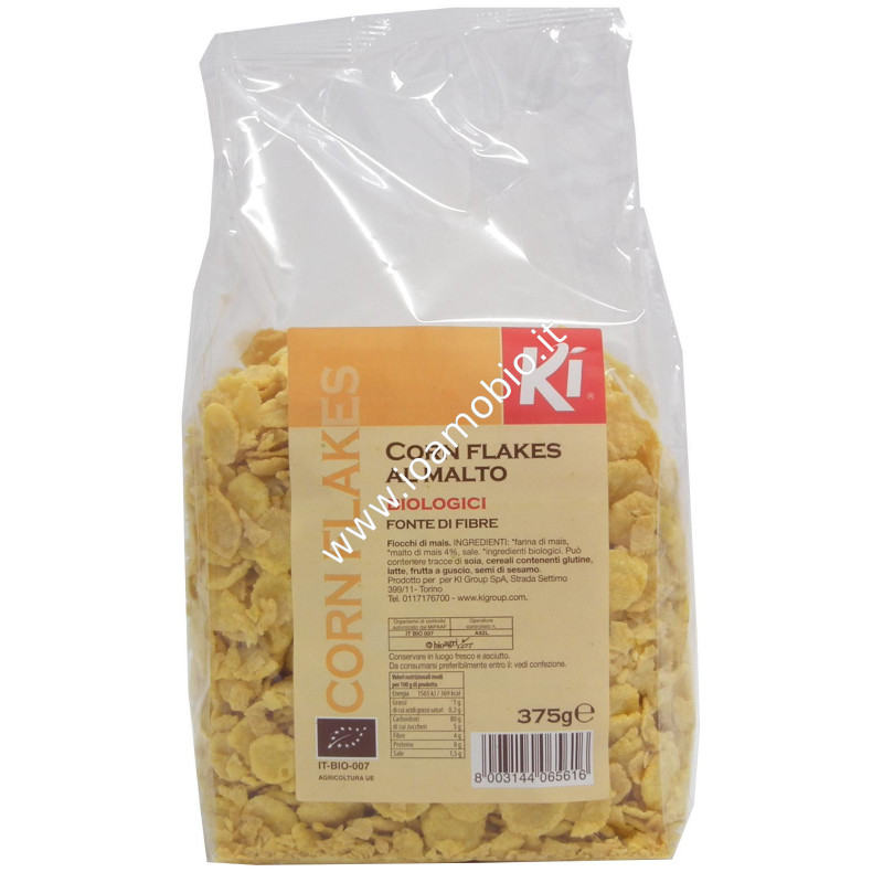 Corn flakes al malto 375g