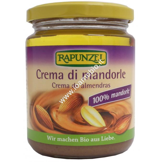 Crema di Mandorle Rapunzel 250g - 100% Vegetale e Biologica