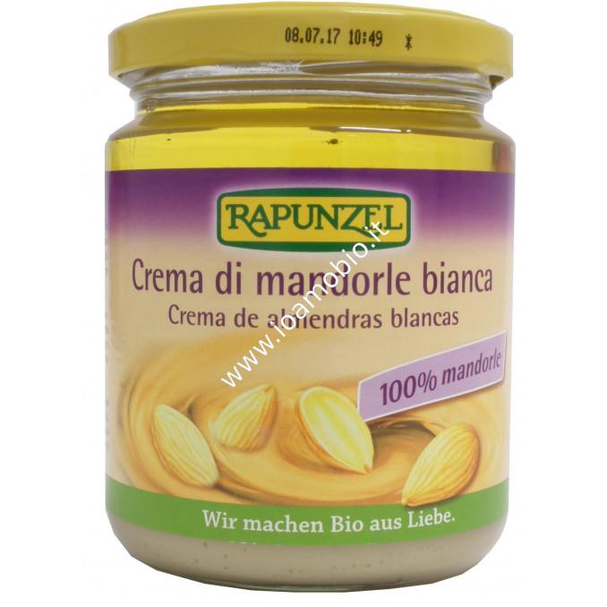 Crema di Mandorle Bianca Rapunzel 250g - 100% Vegetale e Biologica