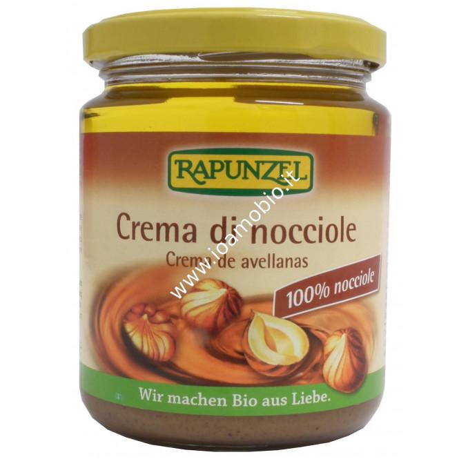 Crema di Nocciole Rapunzel 250g - 100% Vegetale e Biologica