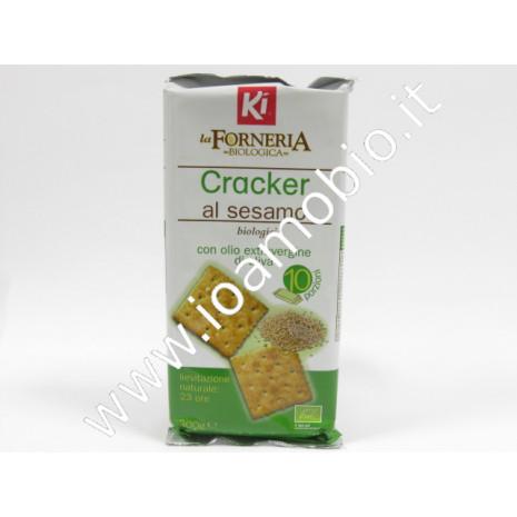 Crackers al sesamo con olio extravergine d'oliva 300g