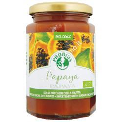 Composta Papaya 330g - Marmellata biologica di Frutta - Probios