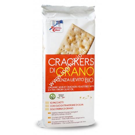 Crackers di grano senza lievito 250g