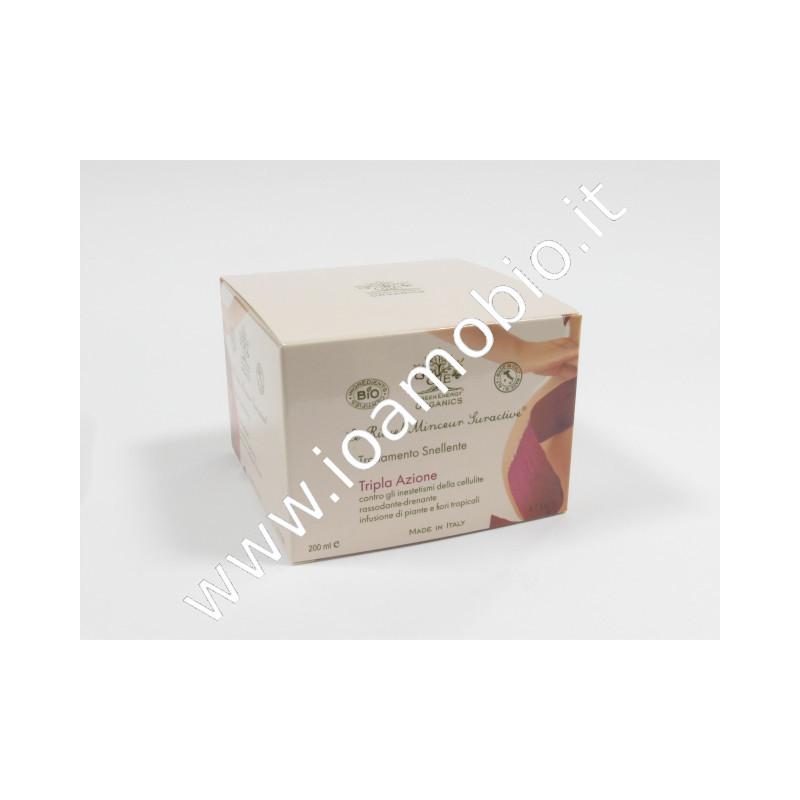 Crema anticellulite trattamento Snellente - Tripla Azione