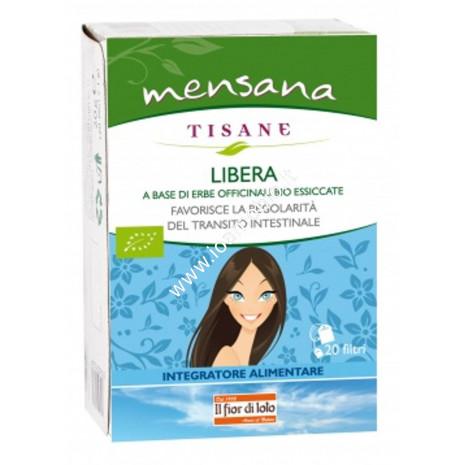 Tisana Libera Mensana 20 filtri 30g - Transito e regolarità Intestinale