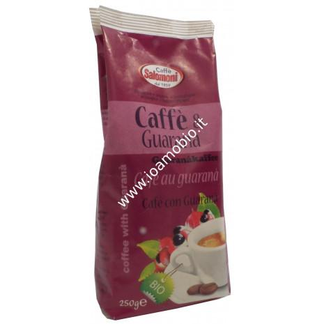 Caffè e Guaranà Biologico 250g -100% Arabica Gourmet e Guaranà per Moka
