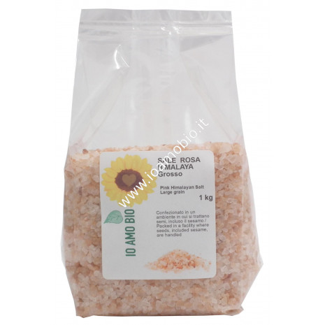 Sale Rosa Himalaya Grosso 1kg - Io Amo Bio