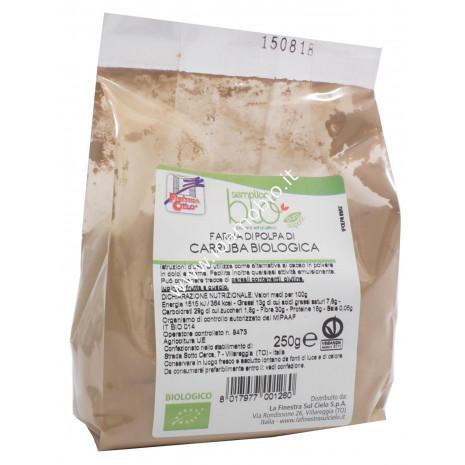 Polpa di carruba (farina) 250g