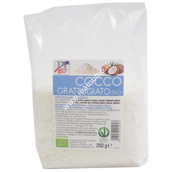 Cocco Grattugiato Biologico 250g - Cocco Rapè