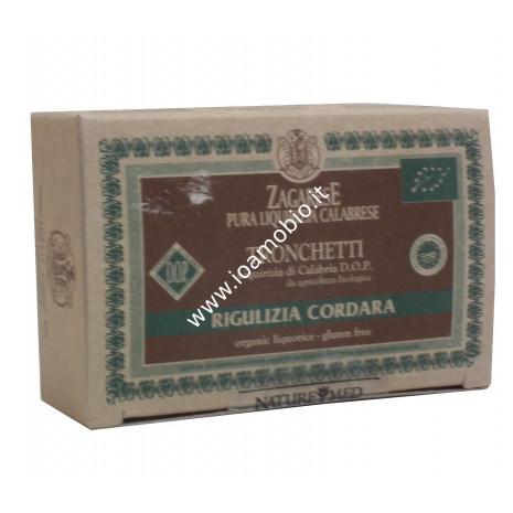 Zagarese Tronchetti di Liquirizia Biologica di Calabria 50g