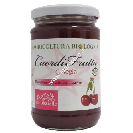 Cuordifrutta Composta di Ciliegie 320g - Marmellata biologica di Frutta