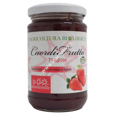 Cuordifrutta Composta di Fragole 320g - Marmellata biologica di Frutta