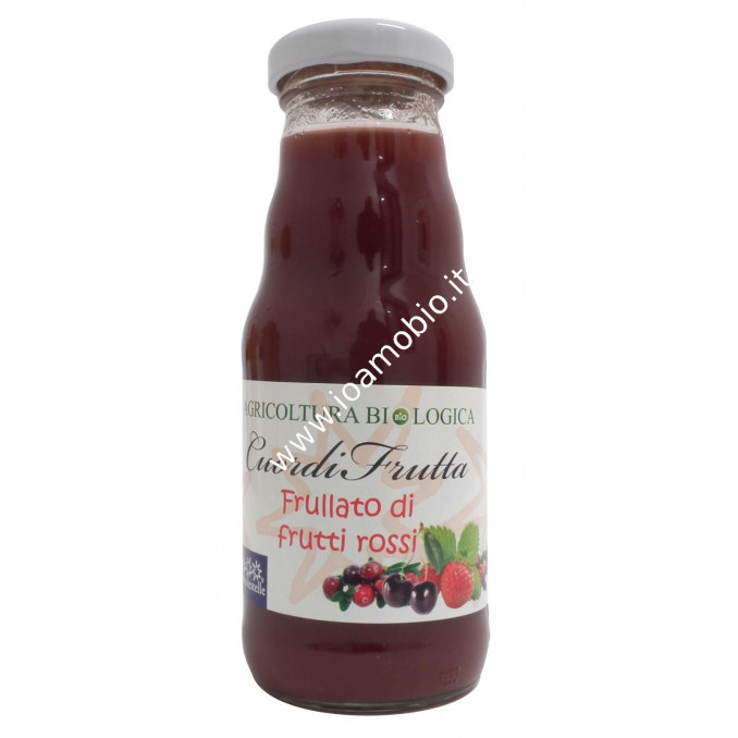Frullato frutti rossi 200ml