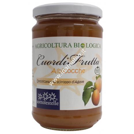 Cuordifrutta Composta di Albicocche 320g - Marmellata biologica di Frutta