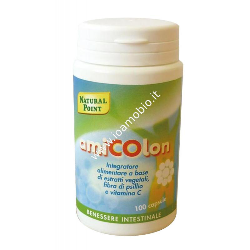 Amicolon 100 caps - Erbe Naturali e Vitamina C per sostenere l'Intestino