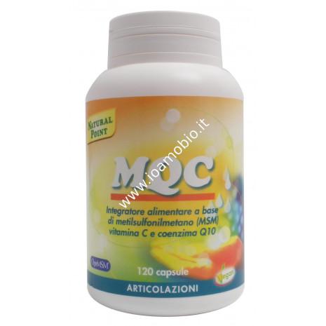 MQC 120 capsule - Integratore Zolfo, Coenzima Q10 e Vitamina C