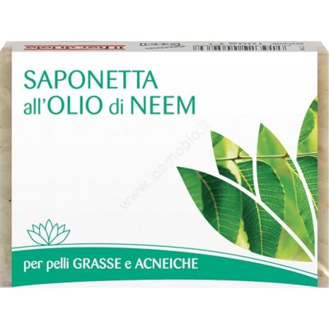 Saponetta all'olio di neem 100g
