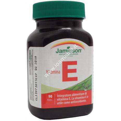 Jamieson Vitamina E 90 perle - Antiossidante