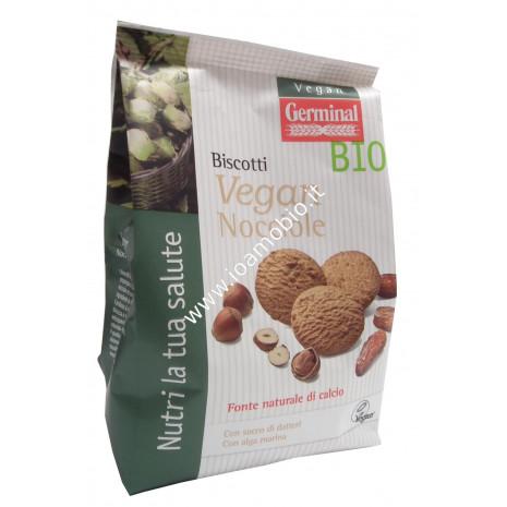 Biscotti Vegan con Nocciole 250g - Frollini biologici