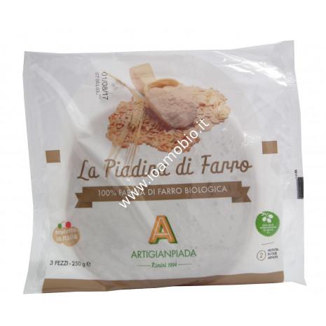 Piadina di Farro 100% biologica 250g