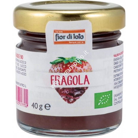 Mini composta di fragole 40g - Composta Biologica