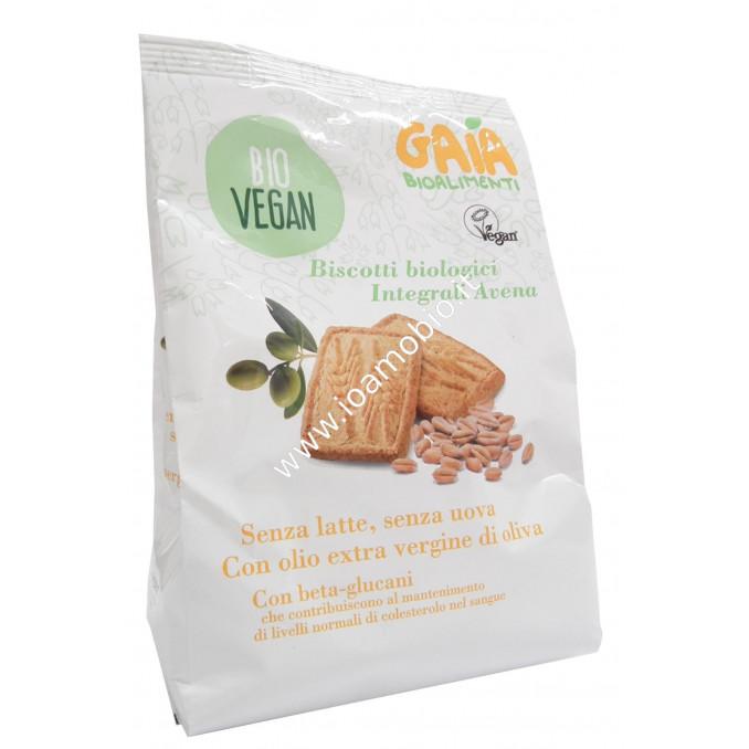 Biscotti Integrali di Avena 300g - Frollini Biologici