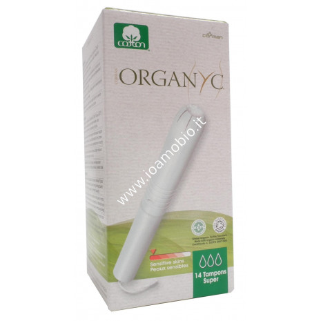 Organyc tamponi applicatore super 14pz