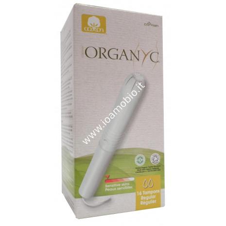 Organyc tamponi con applicatore regular 16pz