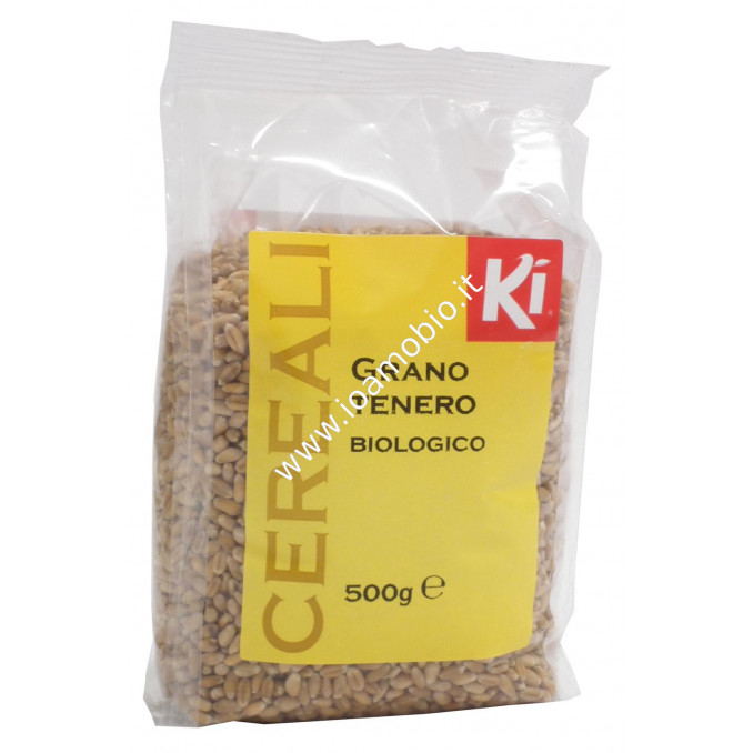 Grano Tenero Biologico 500g - Cereali in Chicco