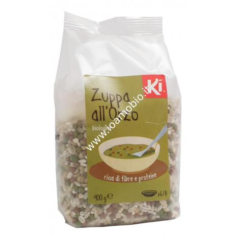 Zuppa all'Orzo 400g - Zuppa Biologica di Orzo e Legumi secchi