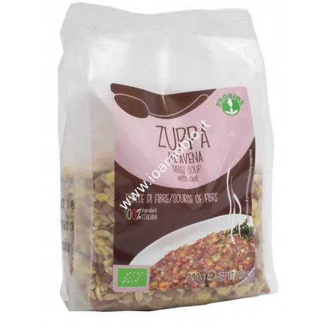 Zuppa all'Avena 300g - Zuppa Biologica a base di Cereali e Legumi