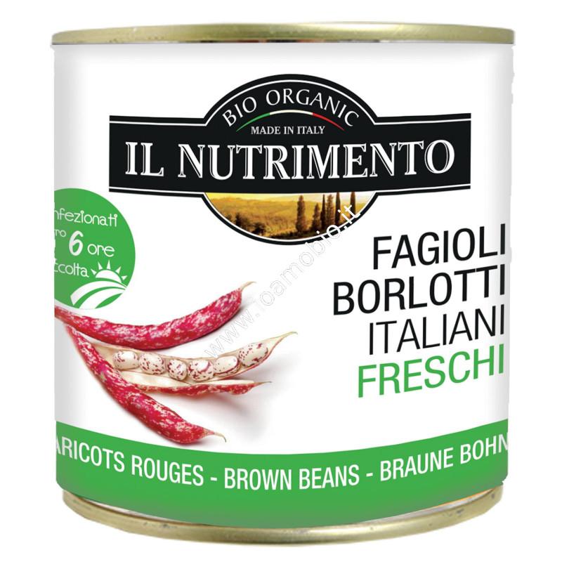 Borlotti italiani freschi 400g